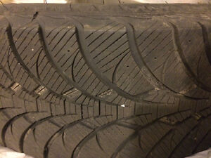 4 Winter tires for Jeep Wrangler 255/70 West Island Greater Montréal image 1