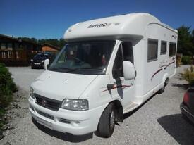 Rapido 7086F 4 Berth family Motorhome