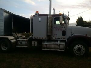 Heavy spec'd Freightliner