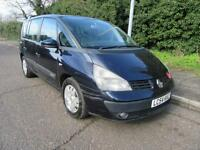 2004 RENAULT ESPACE 1.9DCI EXPRESSION MANUAL DIESEL 7 SEATS