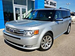 2011 Ford Flex Limited AWD Navigation Heated Leather Seats