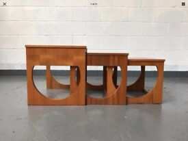 Danish Mid Century Nest Of Tables
