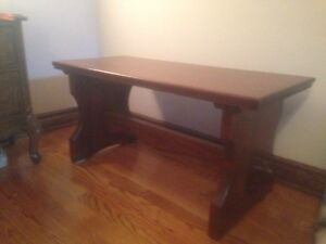 Antique Mahogany Bench or side table