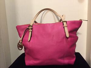 Like new! Beautiful MK Michael Kors pink tote purse!