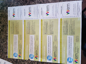 4 passes to west edmonton mall galaxy land or world waterpark
