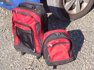 Kids Luggage - Rolling Backpack