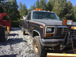 1986 Ford F-250 6,9 litres diesel 4x4