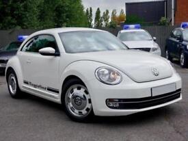 2013 63 VOLKSWAGEN BEETLE 1.2 TSI DESIGN DSG White Auto Petrol