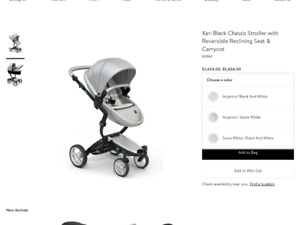Mima Kobe stroller two in one for sale