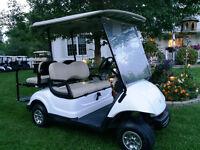 ~~ The Golf Cart Guy ~~ 2008 YAMAHA FOUR PASSENGER GAS GOLF CART