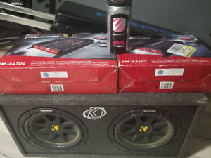 Car audio! Subwoofer Amp and Capacitor