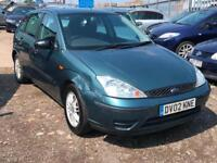 2002/02 Ford Focus 1.8i 16v LX FULL MOT EXCELLENT RUNNER