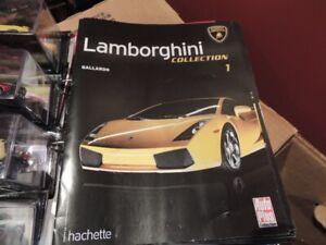 29 véhicules de la collection Hachette Lamborghini (Diecast)