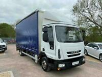 Iveco Eurocargo 75E16S 3.9 160bhp Curtain Side Tail Lift 7.5 Ton Truck