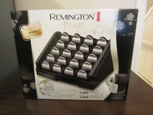 Remington Pearl Set of Heated-clip hair rollers - Never Used