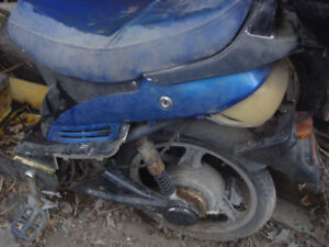 For Sale A Electric Scooter That Needs Work