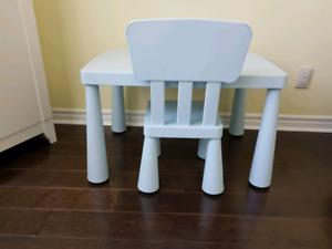 Ikea Mammut Children's table & chair