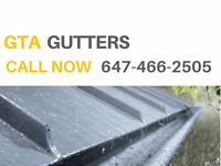 CALL NOW 647-466-2505 GUTTERS INSTALLATION AND REPAIR