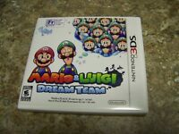 Mario and Luigi Dream Team 3DS game