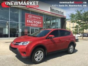 2015 Toyota RAV4 FWD LE  - one owner - local - trade-in - Certif