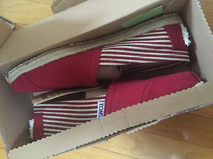 Brand New Toms Classic University Red