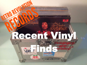 RETRO REVOLUTION- WEEKLY VINYL RECORD ADDITIONS - Oct 11th