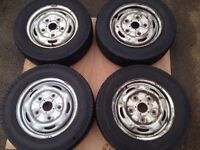 195/70/15 transit wheels and tyres