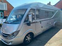 Burstner elegance i900 luxury coach built motorhome camper. Only 39k. Aircon