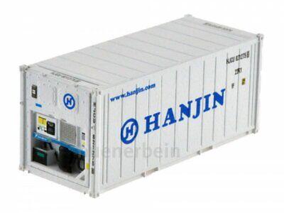 Kombimodell 88380.02 20' Fuss Kühl-Container Reefer HANJIN weiß H0 1/87 NEU+OVP