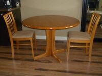 Teak Table & Chairs