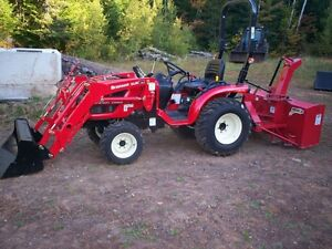 BRANSON 2400H Tractor/Blower Package