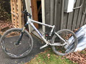 khs mountain bike for parts