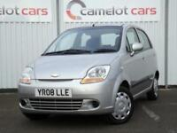 2008 CHEVROLET MATIZ 1.0 SE, 5 DOOR LOW MILEAGE, 12 MONTHS MOT 6 MONTHS WARRANTY