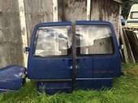 VW t4 transporter rear doors