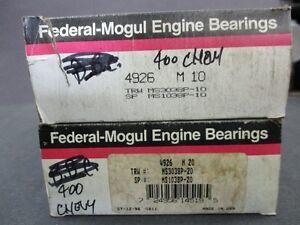 400 Chevy main bearings