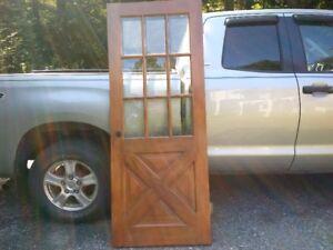 Older Wood Door