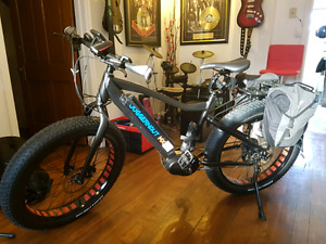 FOUND Juggernaut mx fatbike electric bike mountain bike