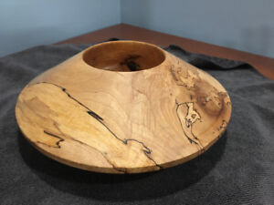 Turned wood bowls and platters