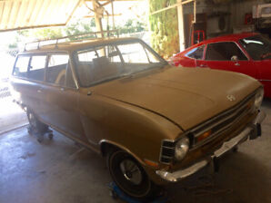 Project car 1970 Opel Kadett Wagon needs to be assembled