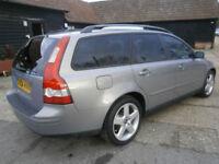 0404 VOLVO V50 2.4 170 BHP AUTOMATIC G/T SE ESTATE 82K FSH NEW CAM-BELT
