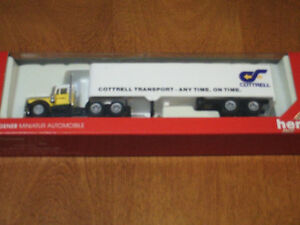 HO Scale Cottrell Transport tractor trailer