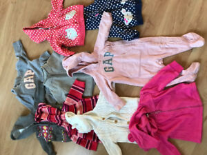 Lot of baby girl clothing - 0-6 months