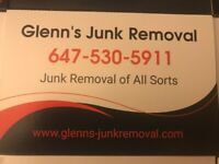 Glenn's Junk Removal closed until further notice
