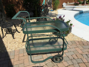 Outdoor Serving Cart (or trolley)