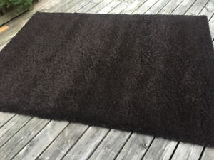 chocolate brown area rug