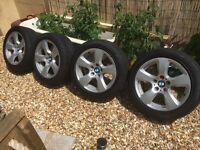 BMW alloys wheels 17 inch, fit Vauxhall vivaro, Renault trafic 5x120