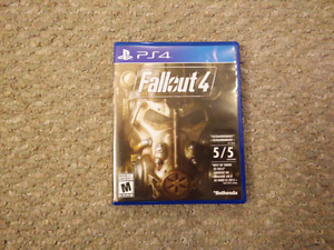 FALLOUT 4 IN MINT CONDITION!