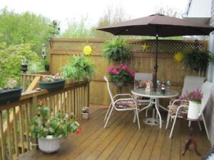 WANTED  Patio table and chairs .