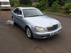 Mercedes S Class 320 CDI- Full Leather, Brand New tyres, Lots of money spent recenty 12 Months MOT
