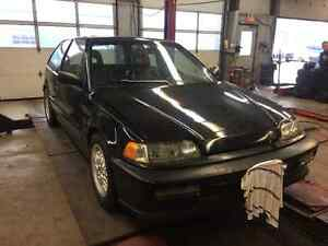 1989 Honda Civic Si Hatchback track ready $3200 As is